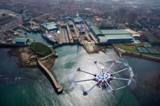 Servicio de fotografía y video con Drones en Euskadi